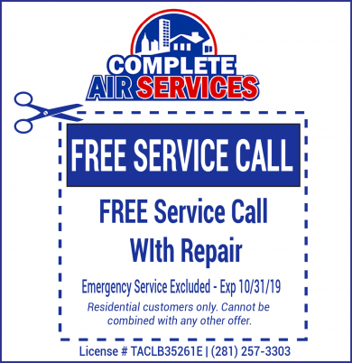 AC Service Call Coupon