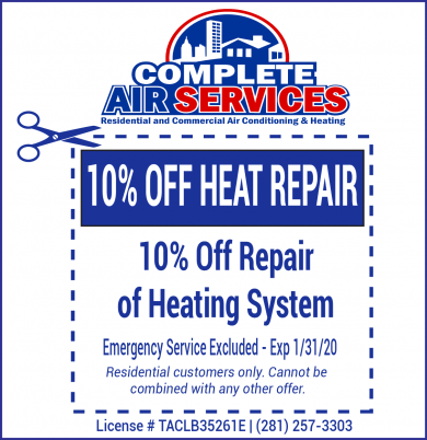 Heat Repair Coupon